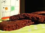 μπισκότα σοκολάτας γεμιστά με σοκολάτα!