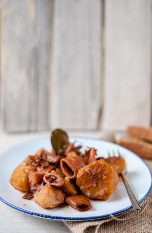 kalamarakia patates selinoriza  2
