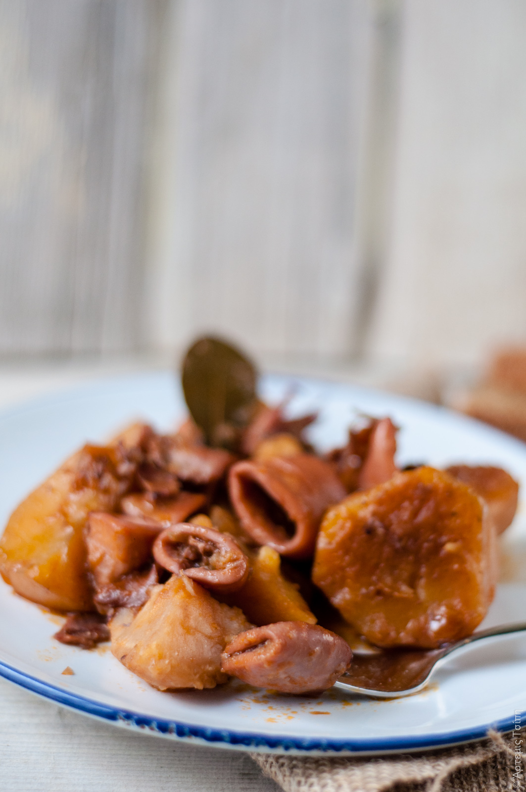 kalamarakia patates selinoriza 3